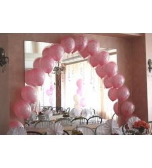 Арка свадебная из шаров в шаре