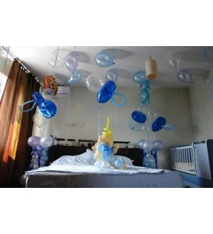 Оформление комнаты на рождение малыша